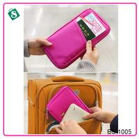 Multifunctional card guarantee travel passport wallet