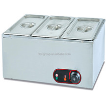 3-pan table top electric stainless steel food warmer EH-3