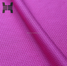 warp knitting 54D/24F DTY dri fit mesh fabric for basketball cloths