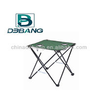Fabric and Steel Freme Folding Camping Table With Two Cup Holders DB1008