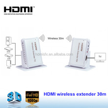 2016 Newest Wireless HDMI Transmitter and Receiver 60G Full HD 1080P Video wireless hdmi Extender 30m