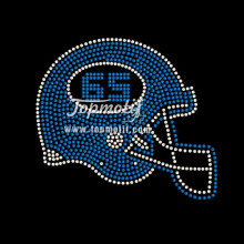 Custom Rhinestone Football Helmet Designs Wholesale