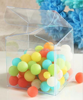 6*6*6cm pvc box ,clear candy box China supplier sales paper folding candy box from alibaba shop