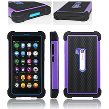 COMBO HYBRID HARD SOFT ARMOR PARTS CASE BACK COVER FOR NOKIA N9 lumia 920