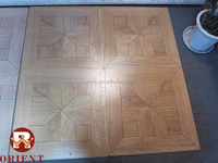 made in china 8/10/12mm 600*600 parquet laminate wood floor