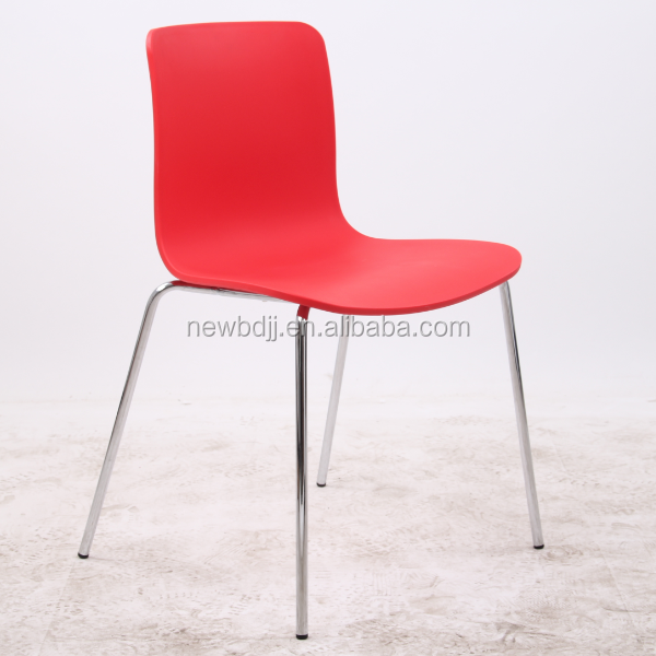 Simplicity Home Commercial Use Dining Chair Plastic Bright