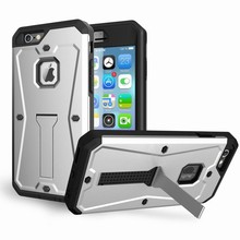 Kickstand Hybride Cover for iPhone 6 ,for Apple iPhone 6 Tank Armor Case