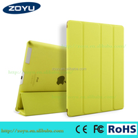 Mutifunction factory ultra thin magnetic smart cover auto wake sleep for ipad 234 styles case