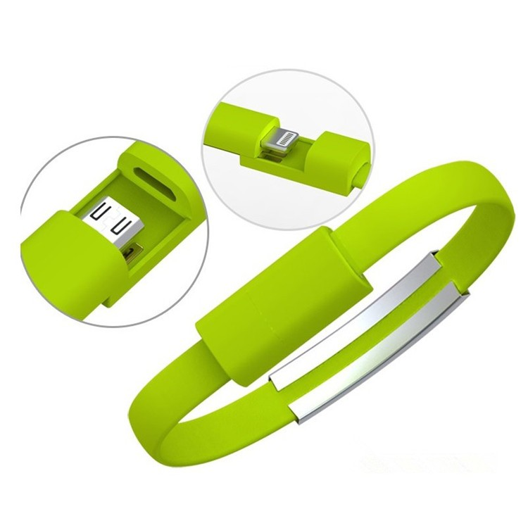 2016 best selling bracelet data line custom usb cable for iphone