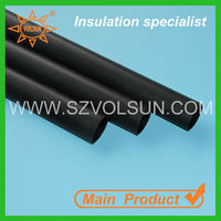 Low Voltage Black Thermo Shrink Insulating Cable Sleeve