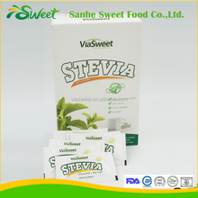 maltodextrin/erythritol mix stevia sweetener sachets for coffee, chocolate,soft drink