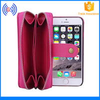 Hot Selling Purse Wallet Case for Iphone 6S, 2015 Phone Accessories