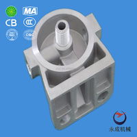 China die casting aluminum parts for car oil filter