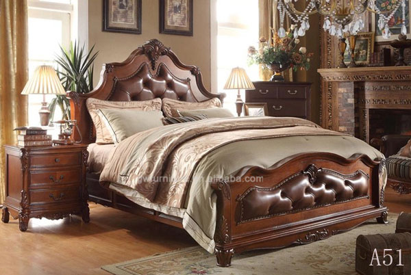 100% <strong>oak</strong> <strong>wood</strong> 100%hand carved 100% cheap price antique fashionable bedroom furniture from factory