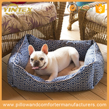 Extreme Comfort round rectangle shape custom mat cushion sofa popular design soft plush dog bed for cheap sale