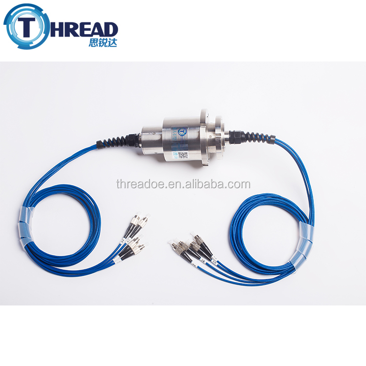 High Performance 5-8 channels fiber optic slip ring