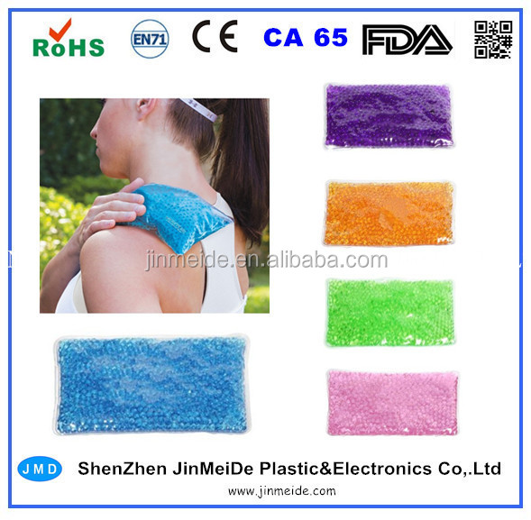 Relief Pain Gel Beads Ice Pack / Crystal Beads Hot Cold Pack