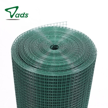 1/4 inch chart pvc coated galvanized welded wire mesh rolls size