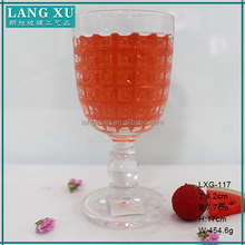 glassware product crystal decorative wine water wholesale glass water goblets for bar&restaurant