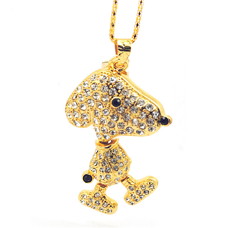 Jewelry Dog shape USB flash drive, lovely Dog USB disk, cute animal USB pen drive