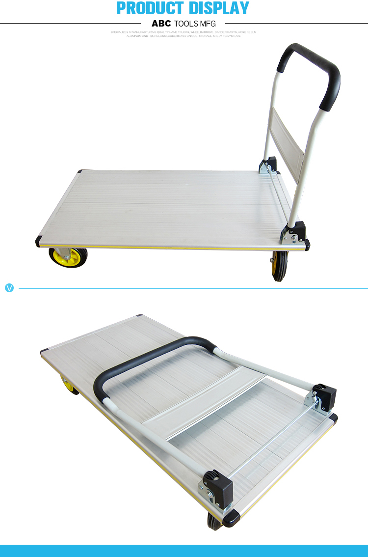 Good quality Multi-function heavy duty hand truck hand trolley