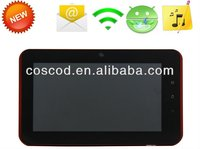 "7"" android 2.3 tablet pc C71 capacitive cortex a9 zenithink laptop"