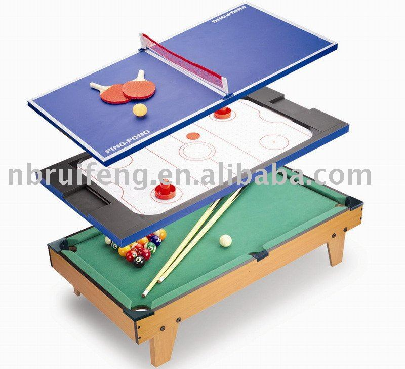 Multi table de jeu tables de snooker billard id de for Table de multi