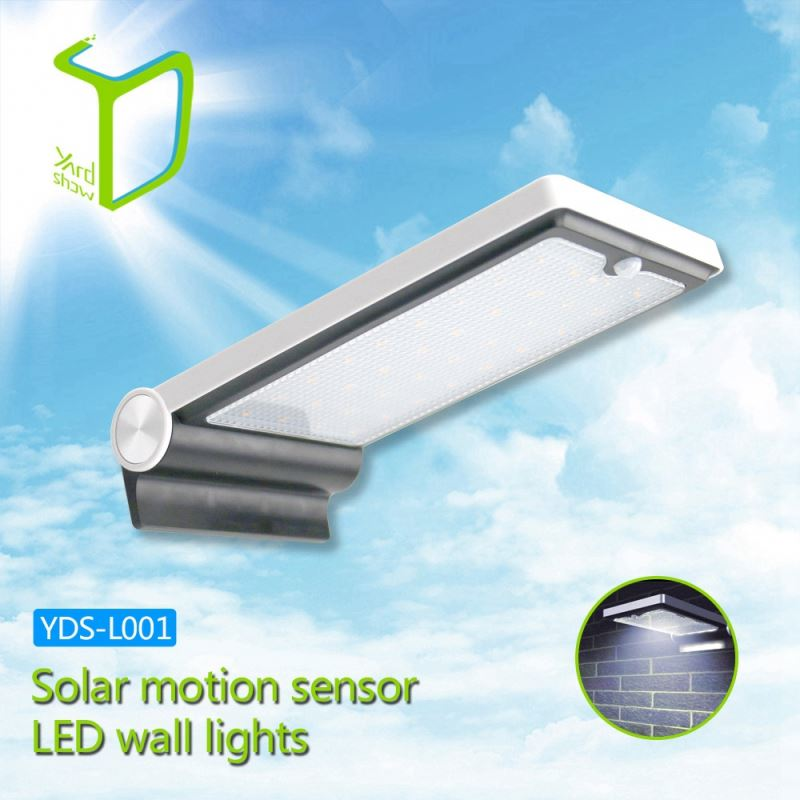 Yardshow Sample Available Light-control Motion Sensor Activated outdoor patio wall lights for garden yard