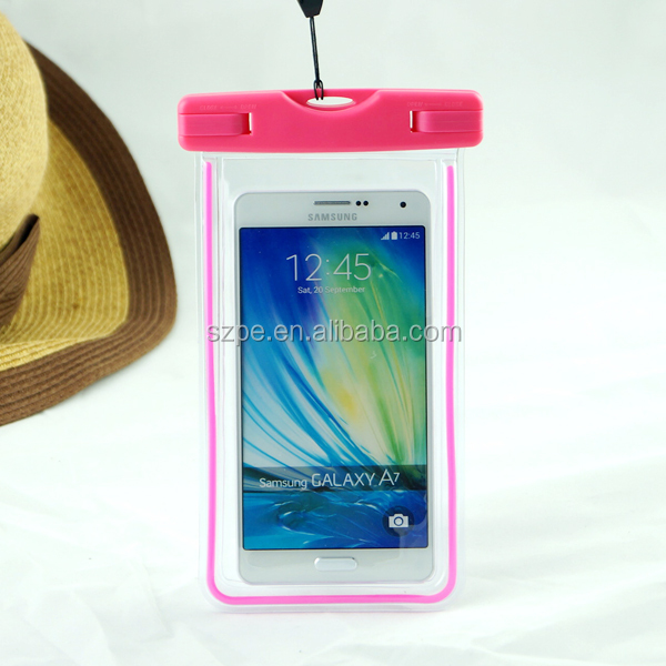 Colorful waterproof phone bag case for sam galaxy grand prime