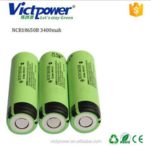 18650 ltihium battery NCR18650B 3400mah battery cell 18650 battery