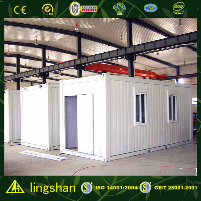 SGS certification 20ft cheap nice prefab homes made in china