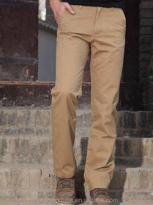 2016 hot sale chino pants for men