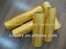 pvc cling film wrap for food vegetable meat