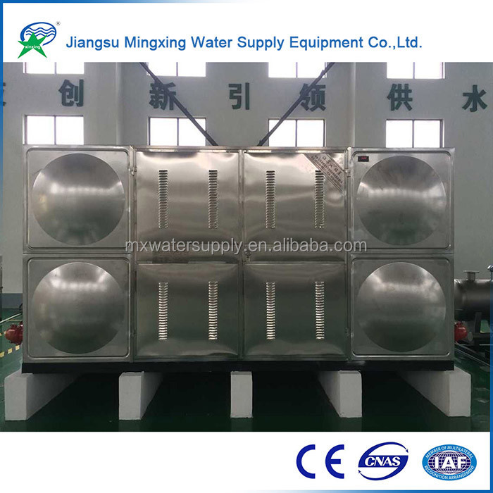 High quality galvanized water pressure tank