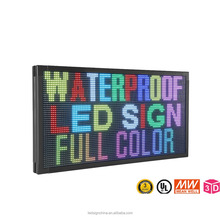 p10 full color outdoor led sign/ led display board