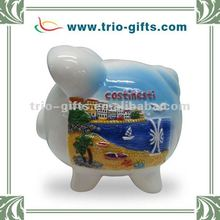 Ceramic piggy bank ceramic coin bank