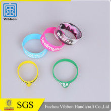 Promotional gifts rubber silicon bracelet / custom silicon wrist band / silicon wristband