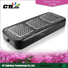 Full aluminum housing greenhouse used advanced plant light full spectrum led grow light 12v dc