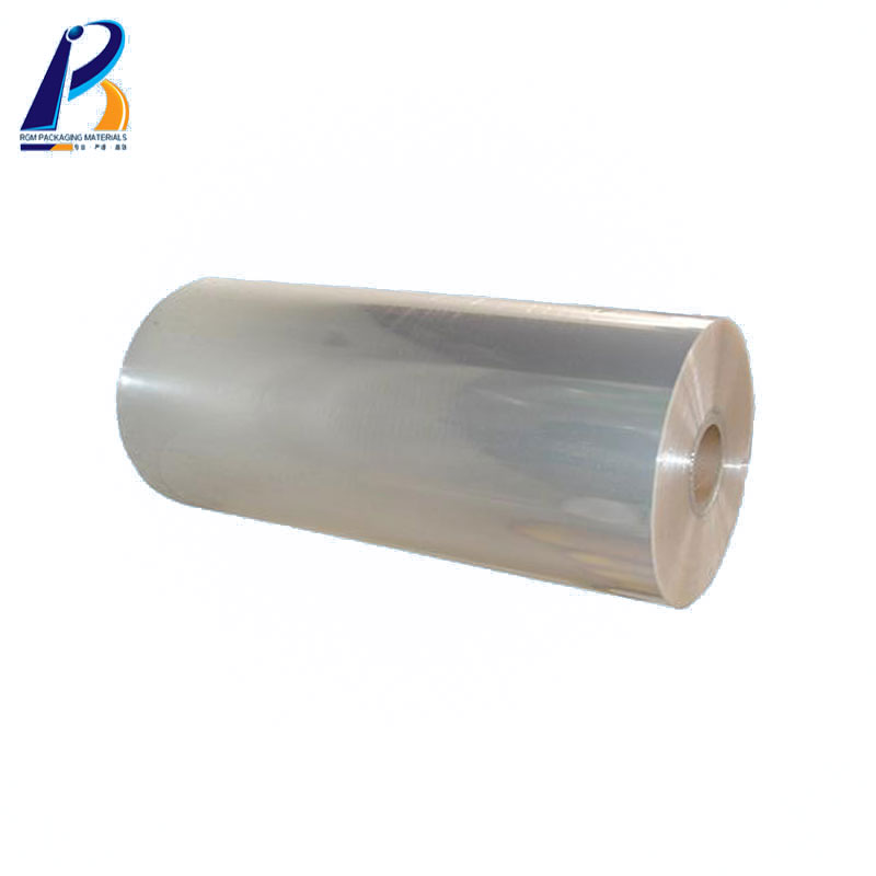 6 8 12 micron Food Grade Pet Film / Polyester Film / BOPET Film roll