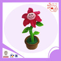 plush plant flower type Christmas toys baby toys