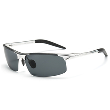 Aluminum and Magnesium Polarized Sunglasses Riding Glasses 8177,Factory Direct Sell