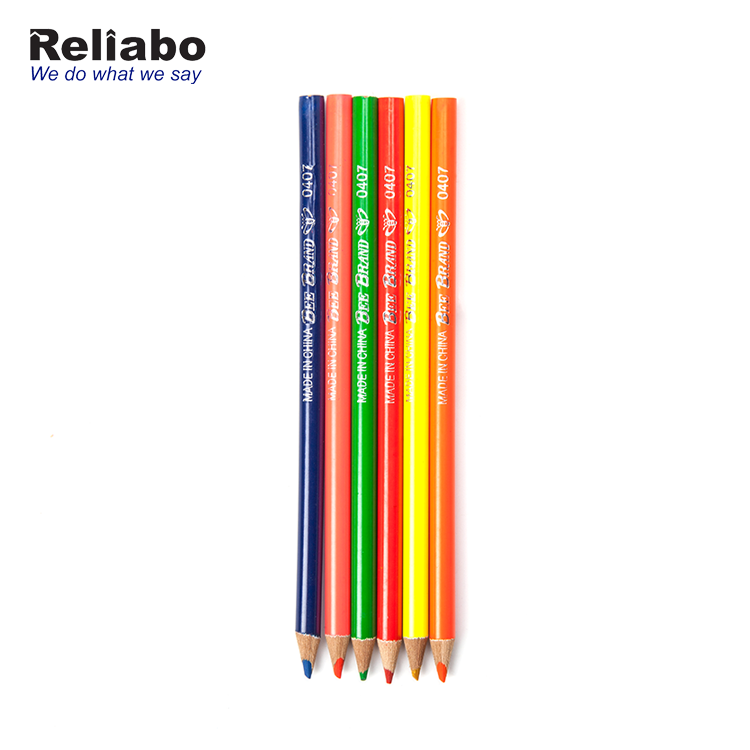 Reliabo China Online Selling Children Graffiti Drawing Wooden Colouring Pencil With Logo