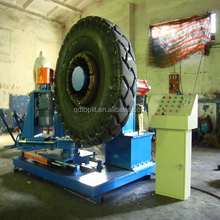 OTR tire retreading buffing machine