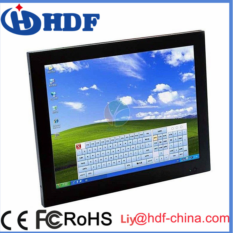 "5 wire 17"" resistive industrial touch screen for monitor,LCD touch screen"