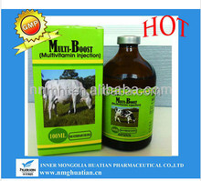 veterinary medicine multi-boost multivitamin injection for animal use