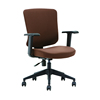 Height adjustable armrest modern computer office furniture chair with wheels