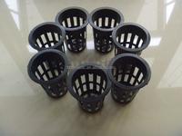 hydroponics aeroponics net cups outer lip pots for seeding & hanging plants