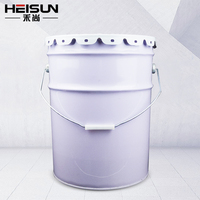 Large Capacity Round Tin Bucket For