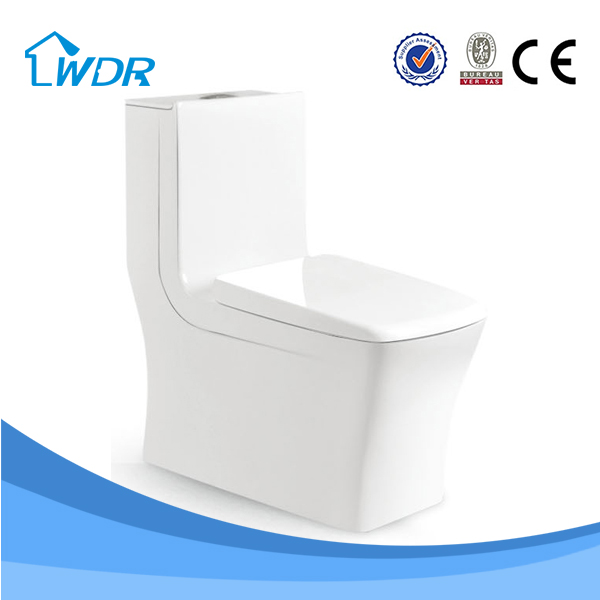 Bathroom accessories set toilet, washdown one-piece toilet, S trap 250mm or 300mm bathroom suites