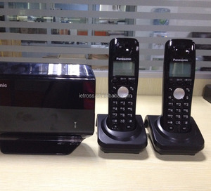 2 handsets KX-TW502 long range cordless phone